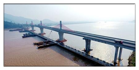 桥梁支座灌浆料厂家推荐:灵江特大桥施工建设引来百人观摩