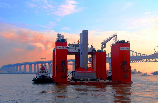 桥梁支座砂浆经典案例:港珠澳大桥CB03标段