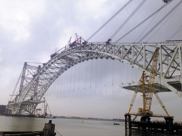 桥梁压浆料经典案例:珠海横琴二桥